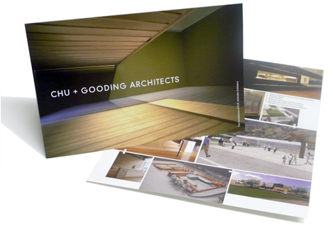 Chu + Gooding Architects Marketing Materials